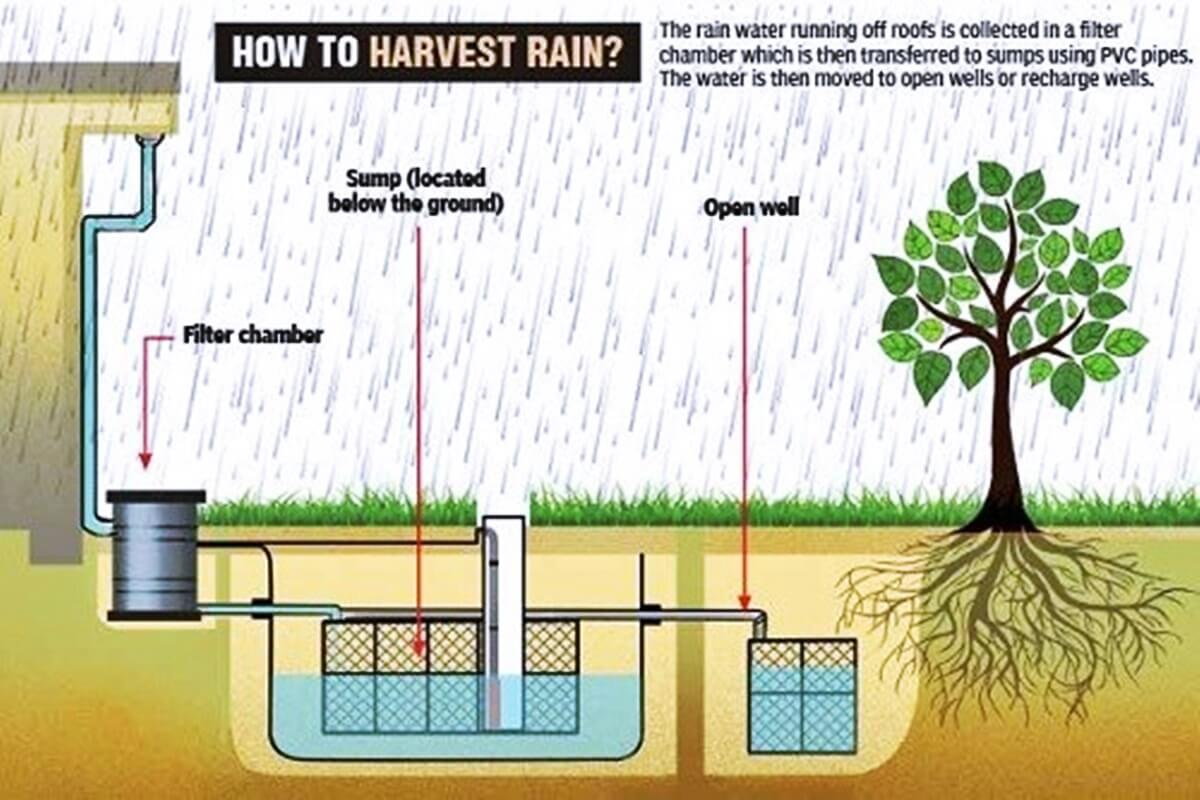 Image result for rain water harvesting