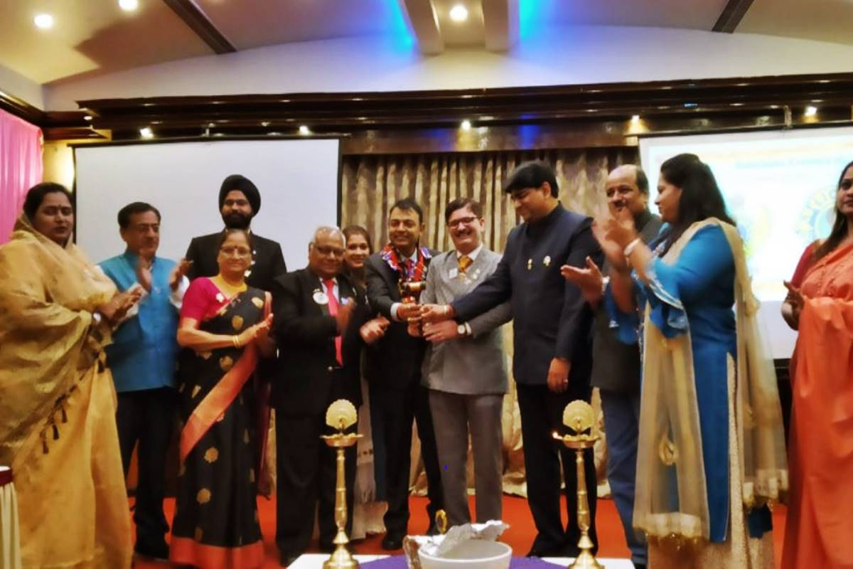 New Body Of Lions Club Of Nagpur Victory Installed The