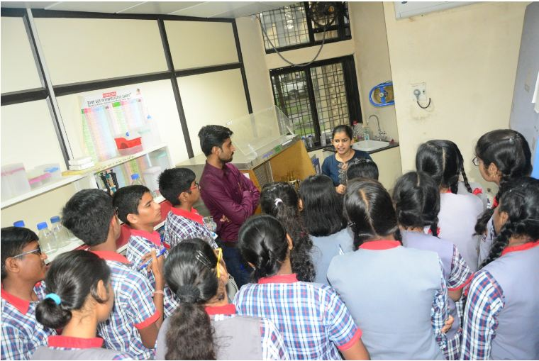 Students enjoyed their visit to the laboratories