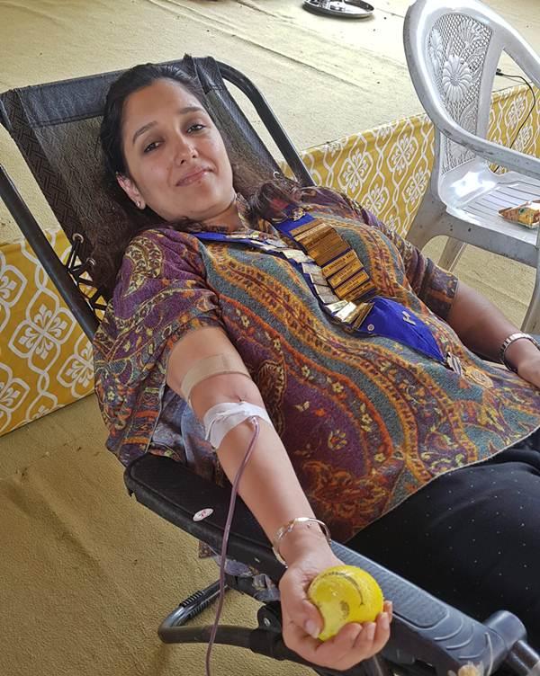 Nagpur Ladies Circle Organises Blood Donation Camp