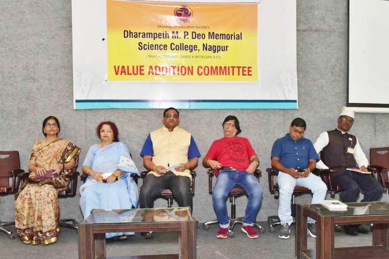 Dharampeth M.P.Deo memorial Science College Celebrates Digvijay Divas
