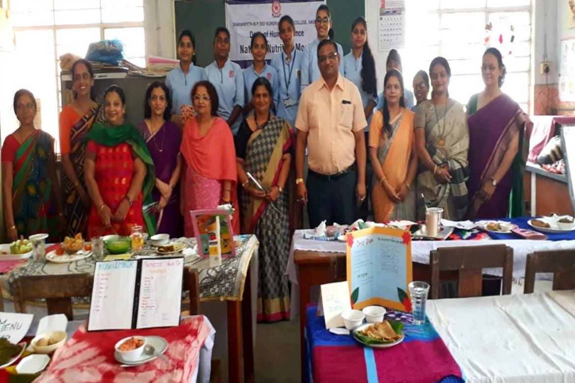 National Nutrition Month celebration at Dharampeth M.P. Deo Memorial Science College concludes