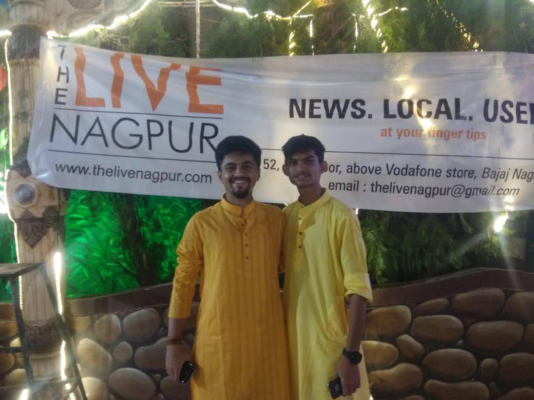 Yellow colour of Navratri with The Live Nagpur