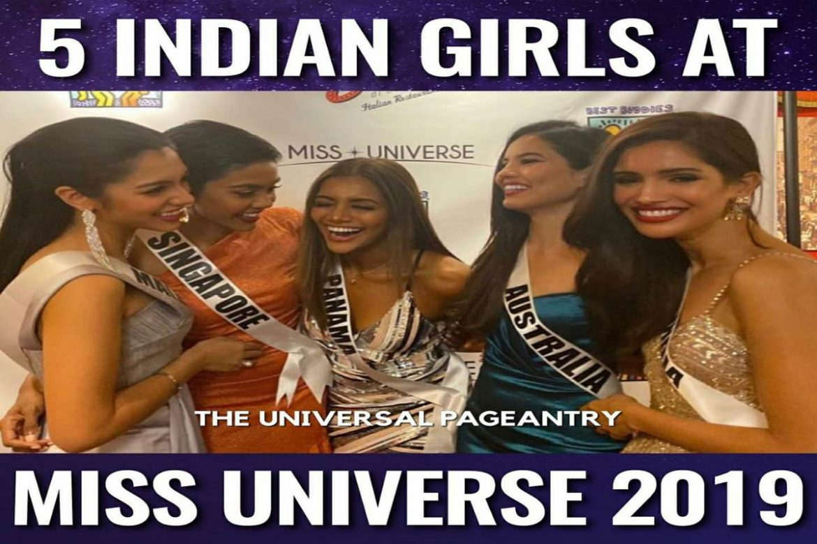 5 Indian origin girls to compete in Miss Universe 2019