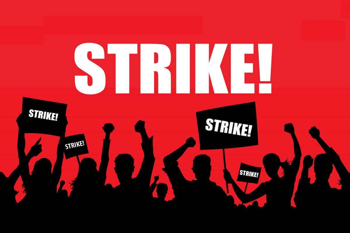 Protest against anti-labour policies, workers to conduct strike on Nov 26 - The Live Nagpur