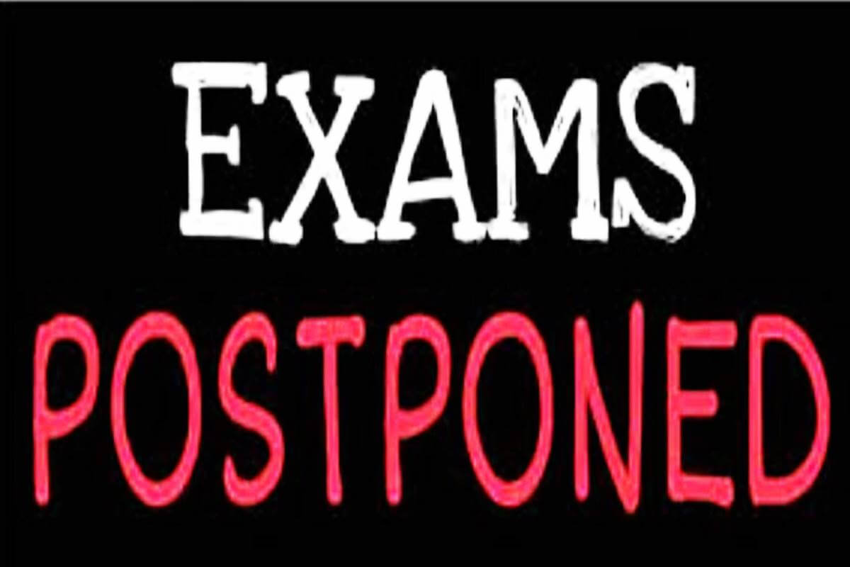 government orders postponing of cbse  jee  cet exams due